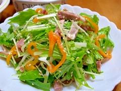 水菜☆簡単ピリ辛サラダ