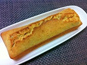 バナナdeしっとり簡単パウンドケーキ