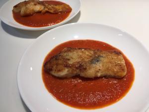 たら トマト ソース