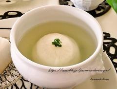 レンジで簡単☆かぶの丸ごと中華スープ