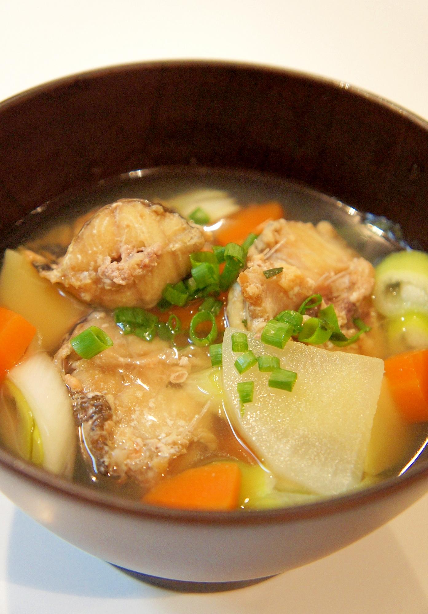 北海道 冬の郷土料理~カジカ汁