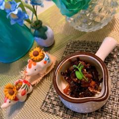 燻製オイルサーディンと昆布の佃煮