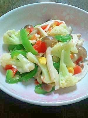 アレルギーっ子も食べられる♪彩り色々♪簡単野菜炒め