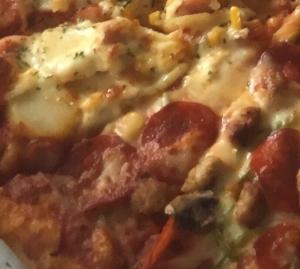 スッキリ フライパン ピザ