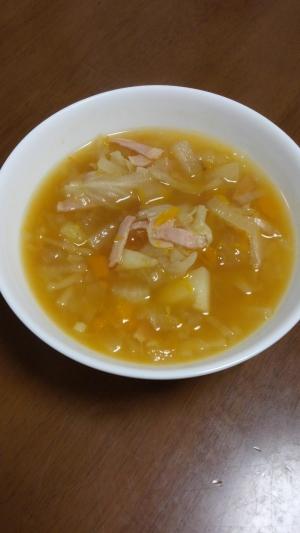 炊飯器で!コンソメスープ