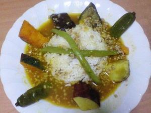 スープカレー(夏野菜or山椒香るフレッシュトマト)