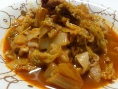 めちゃうまぁ~♪豚肉と白菜のケチャップ煮
