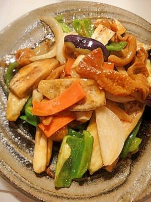 とんてっちゃんの野菜炒め