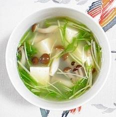 お豆腐のスープ