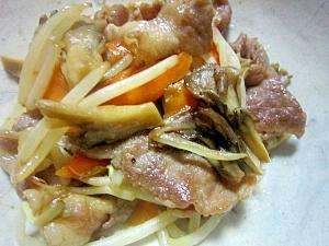 豚と舞茸の炒め物
