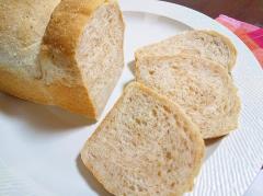 もっちりソフトな全粒粉ミニ食パン