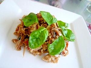 イタリアン鶏ごぼうご飯
