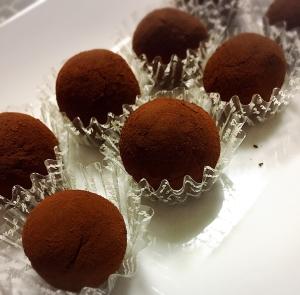 今からでもすぐ作れる♡簡単濃厚生チョコトリュフ♡ レシピ ...