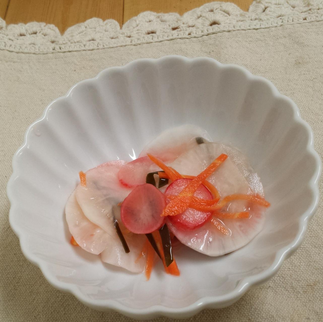 【常備菜】小かぶとラディッシュの甘酢漬け