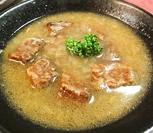 圧力鍋で作る、牛肉シンプルスープ
