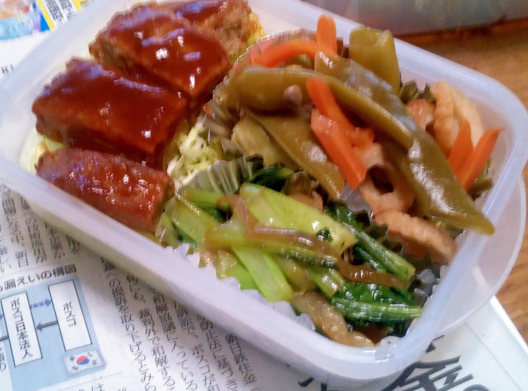お弁当に簡単おかず♪小松菜だけ炒め レシピ・作り方 by かっぺ4217|楽天レシピ