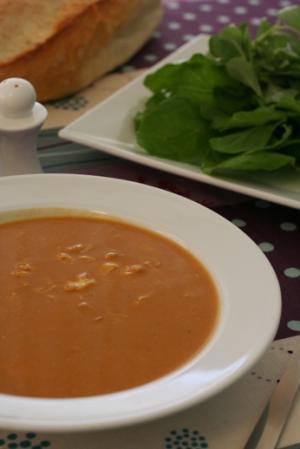 トルコ風のごちゃまぜスープ。