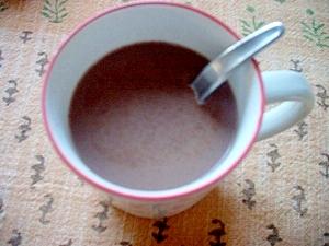 甘い誘惑イチゴココアでチョコinカフェモカ