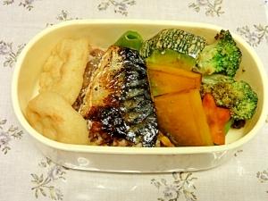 お弁当にぴったり。副菜も一緒に調理