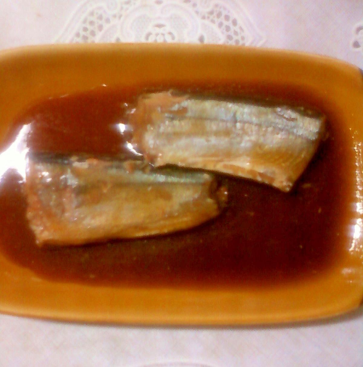 *:..。*゜秋刀魚の生姜煮*:..。*゜