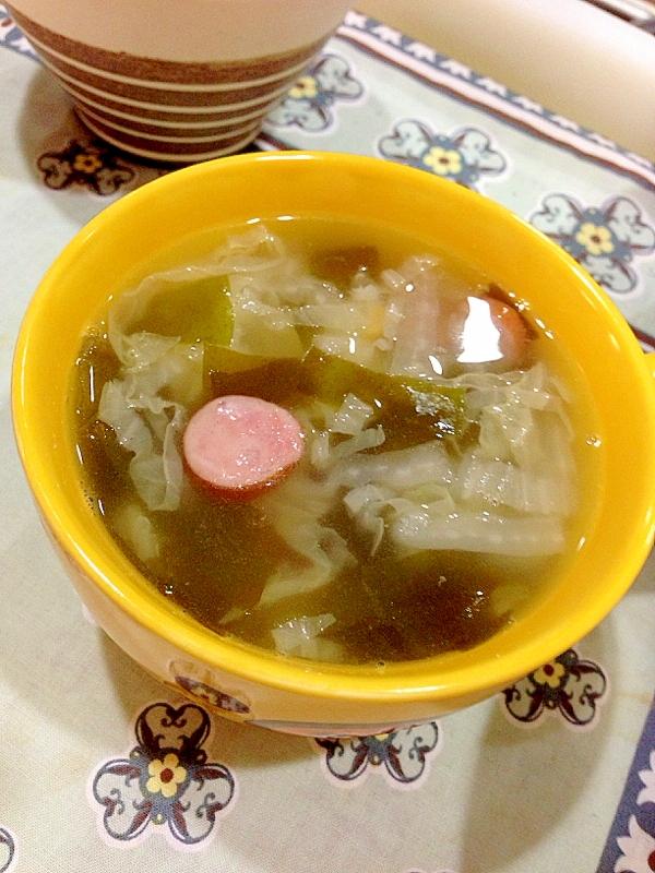 白菜の中華スープ:103
