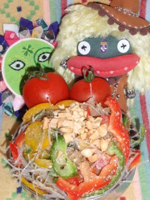 タイ風!搾菜の春雨サラダ