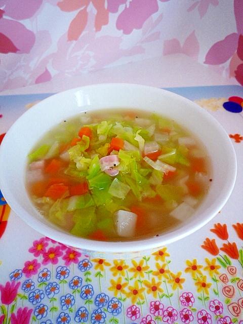 ダイエットレシピ☆トマトのスープ♪