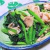 超簡単で美味しい!ほうれん草と豚肉の炒め煮の参考画像