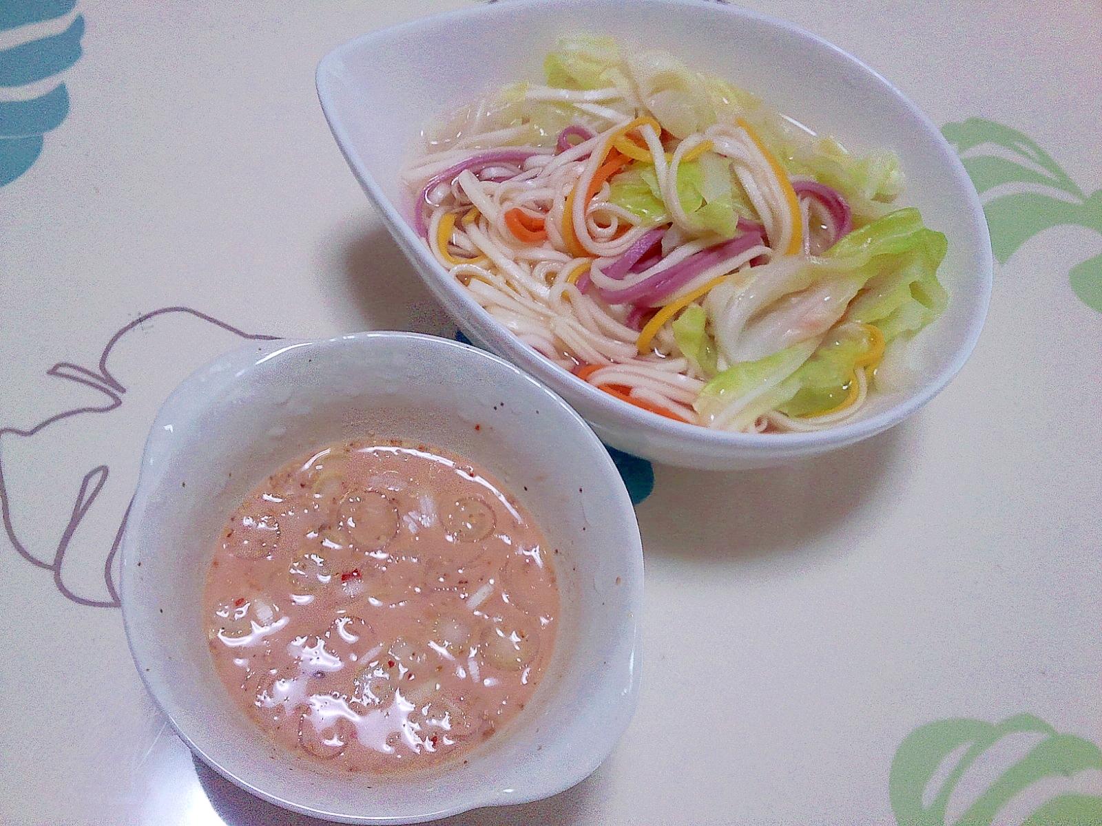 豆乳麺つゆdeつけうどん++