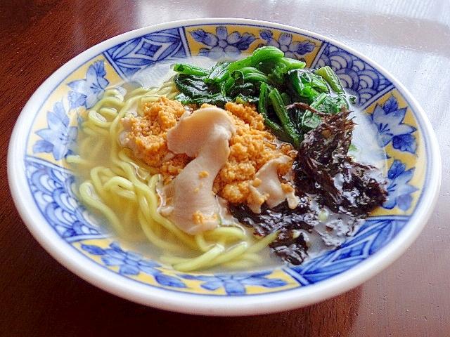 5. いちご煮ラーメン