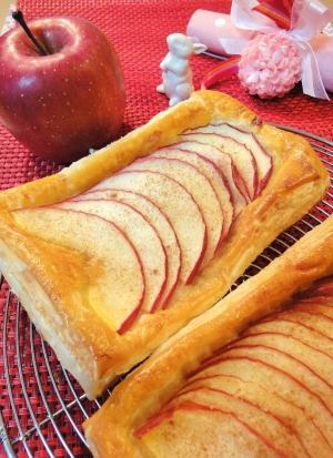 冷凍パイシートで簡単アップルパイ レシピ・作り方
