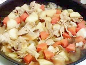 肉じゃがならぬ、里芋の煮物