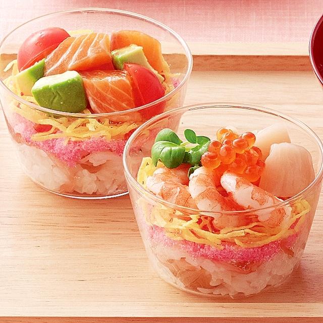 カラフルカップ寿司