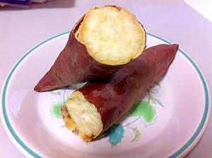 簡単ホクホク、焼き芋の作り方