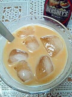 HERSHEY'Sで☆おからきなこチョコミルク♪