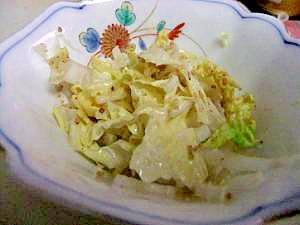 醤油マヨがおいしい~白菜サラダ☆