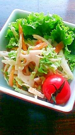 お弁当に・副菜に♪根菜ごまサラダ