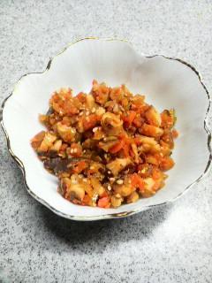 椎茸と野菜のおかず味噌