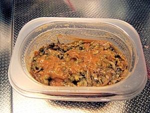 粒山椒とちりめんのおかず味噌
