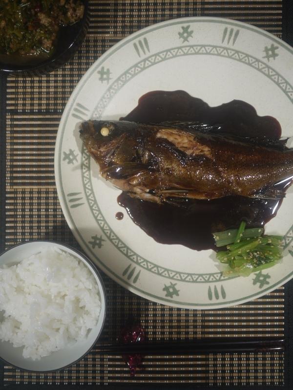 BARATIEの煮魚定食