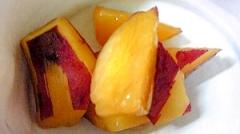サツマイモのレモンシロップ煮