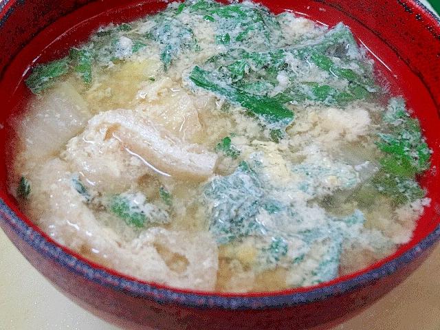 朝のおかず味噌汁☆
