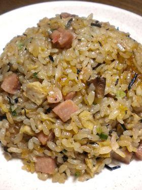 乾物チャーハン(正しくは中華炊き込み飯)