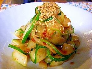 はぐら瓜のピリ辛和え物 レシピ・作り方 by mococo05|楽天レシピ