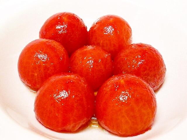 蜂蜜黒酢トマト