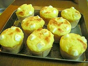 HMで簡単!かぼちゃとクリームチーズのマフィン