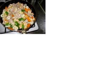 お鍋の具材の残り活用八宝菜