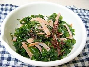 海藻 サラダ