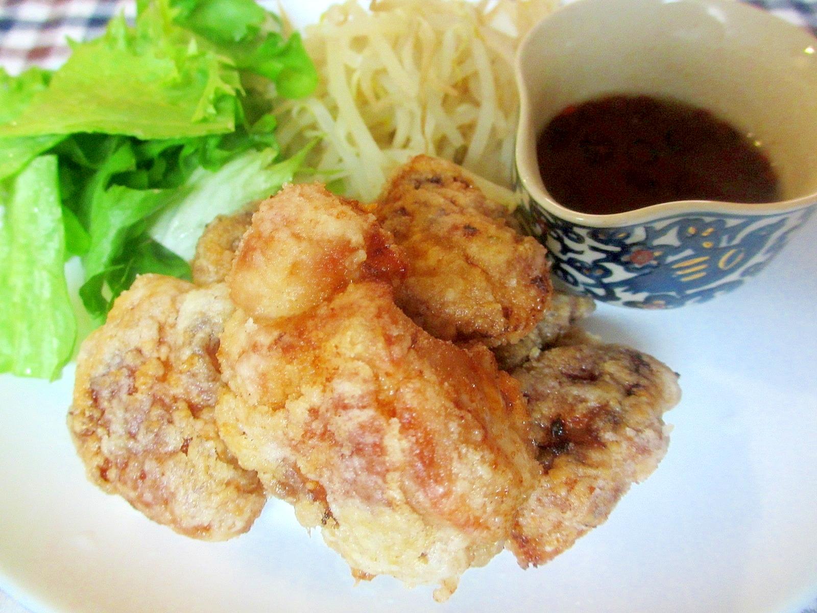 鶏のから揚げアジアンソース