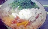 生ポン酢で食べる11品目鍋♪